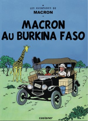 Macron au Burkina