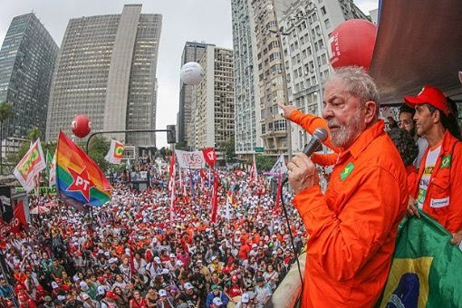 Lula PT manifestation