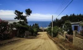 Φθάνοντας στην γειτονιά της οικίας του Neruda