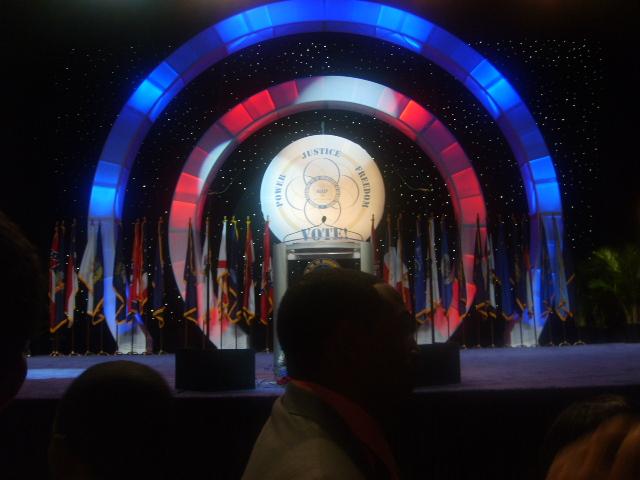 A few minutes for Barack's Speech