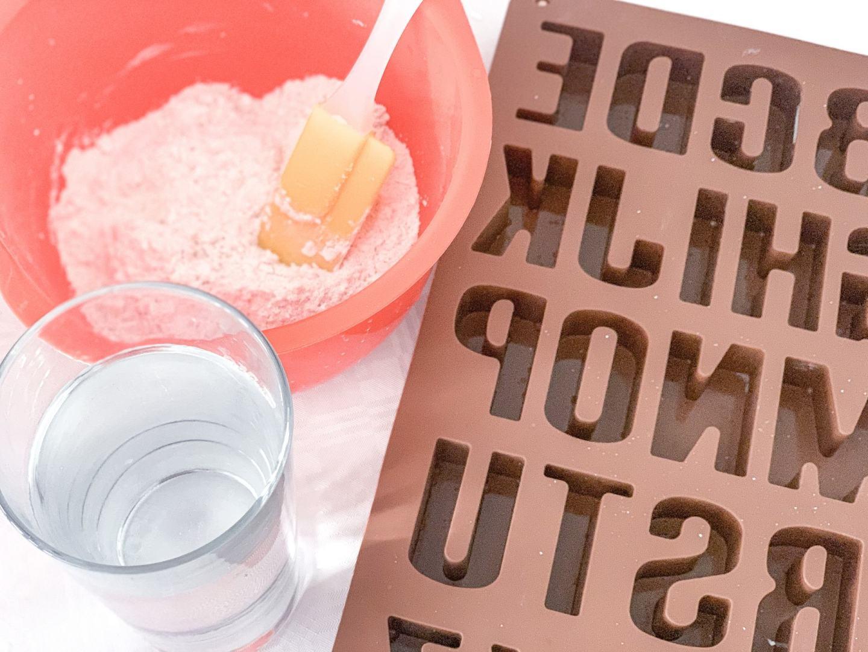 ABC plaster mould