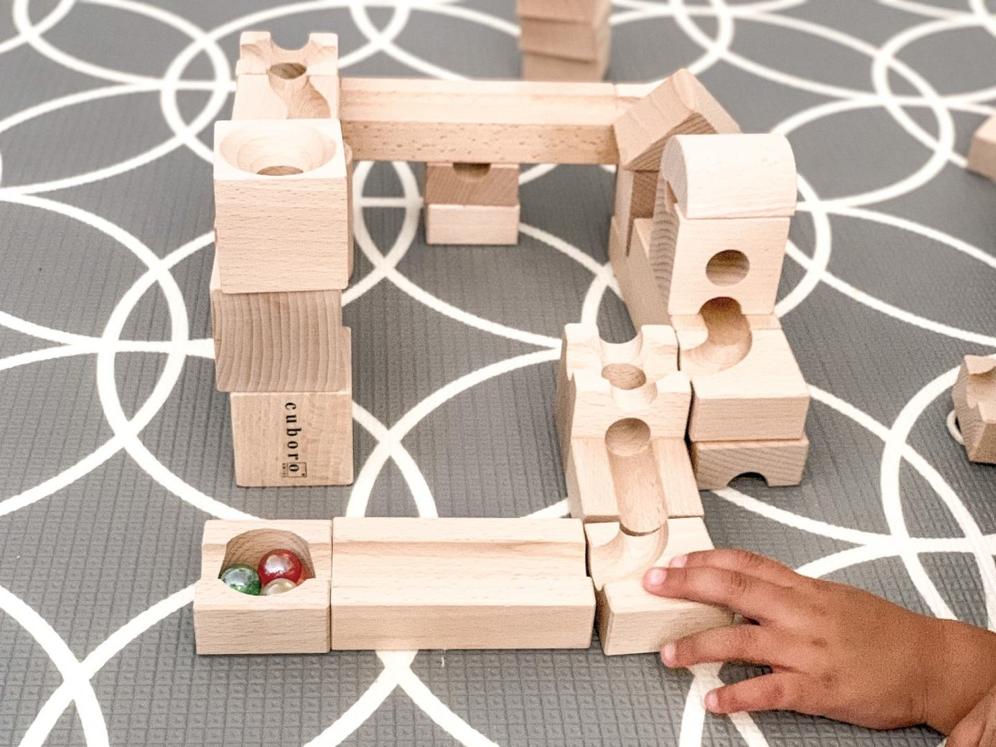 Cuboro wooden marble run review