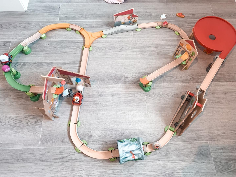 Haba Kullerbü play system setup