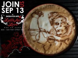 Latte Art Love - Doctor Doom