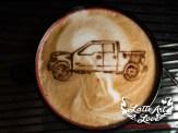 Coffee Catering & Espresso Bar Services - Truck- Latte Art