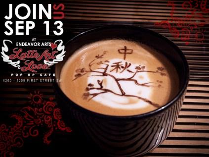 Latte Art Love - Chinese Art