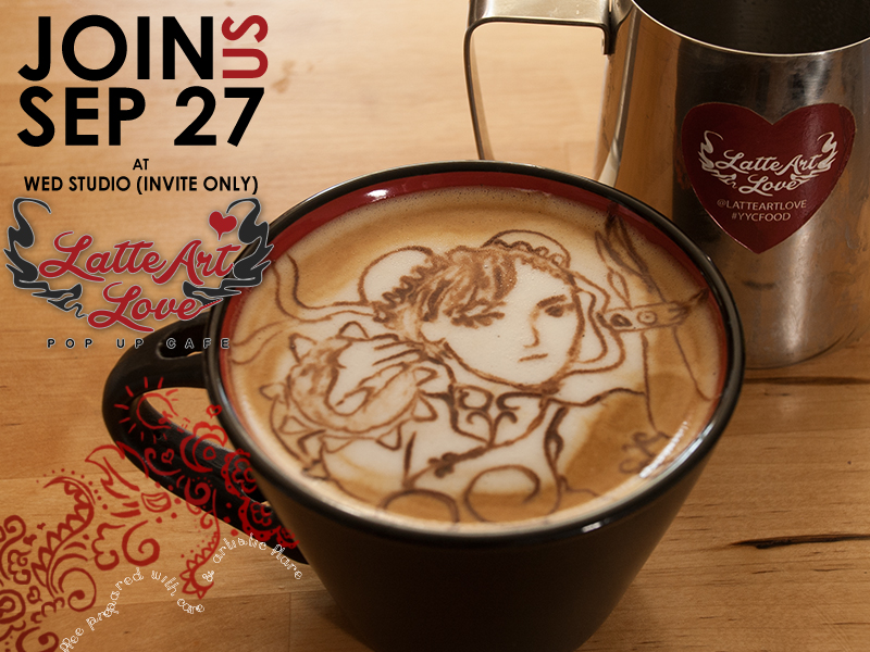 Latte Art Love - Chun-Li