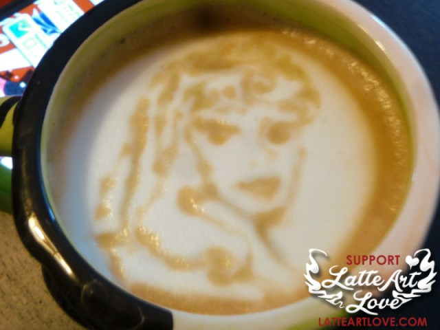 Latte Art - Disney Princess - Aurora - Sleeping Beauty
