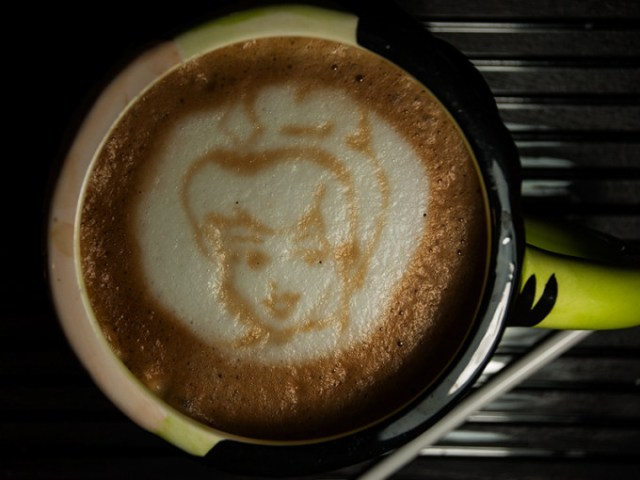 Latte Art - Disney Princess - Aurora - Snow White