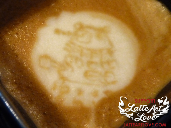 Latte Art - Doctor Who - Dalek