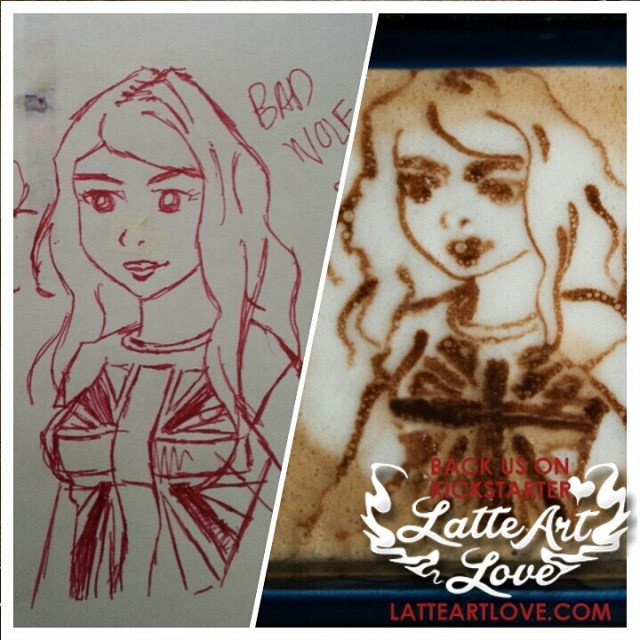 Latte Art - Rose Tyler