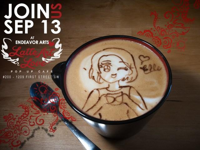 Latte Art Love - Elle