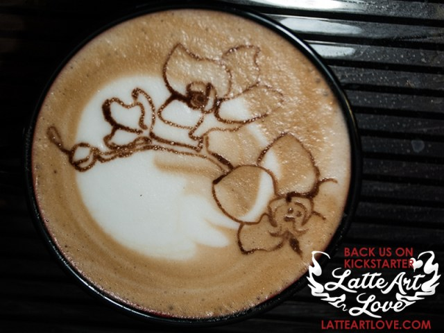 Latte Art - Orchid