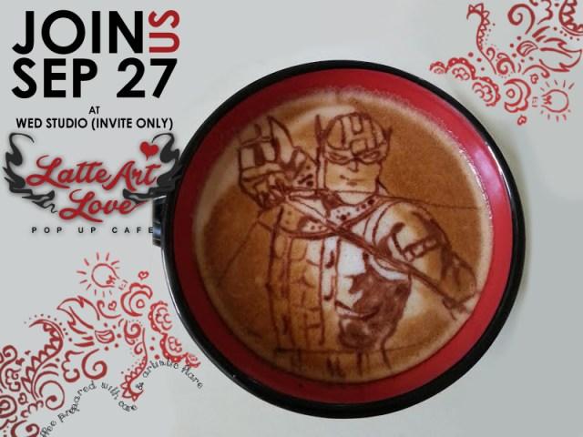 Latte Art Love - Hawkeye