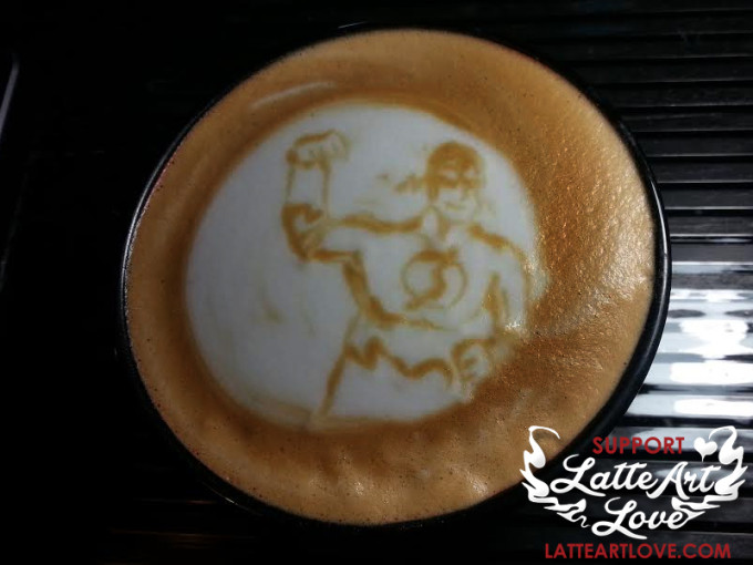 Latte Art Love - The Flash