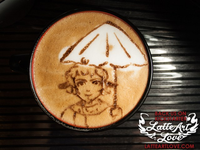 Latte Art - Mr. Tummus