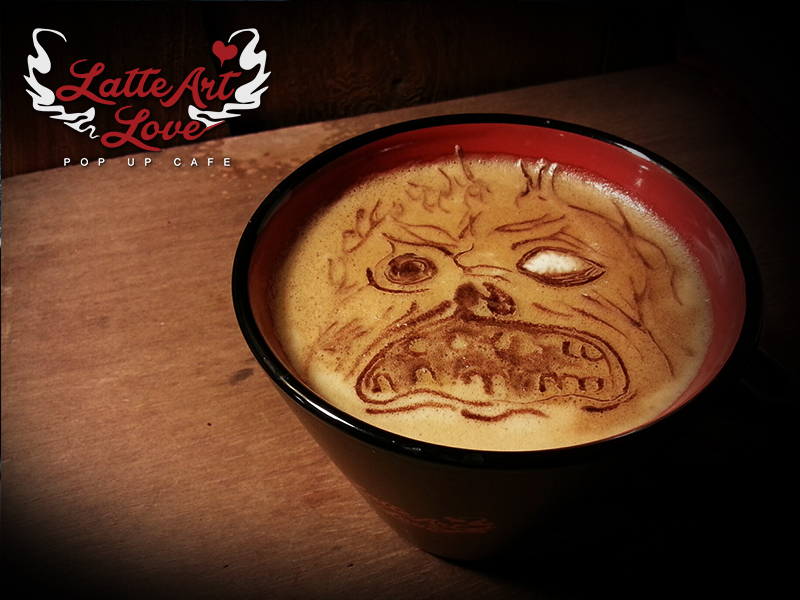 Latte Art Love - Necronomicon