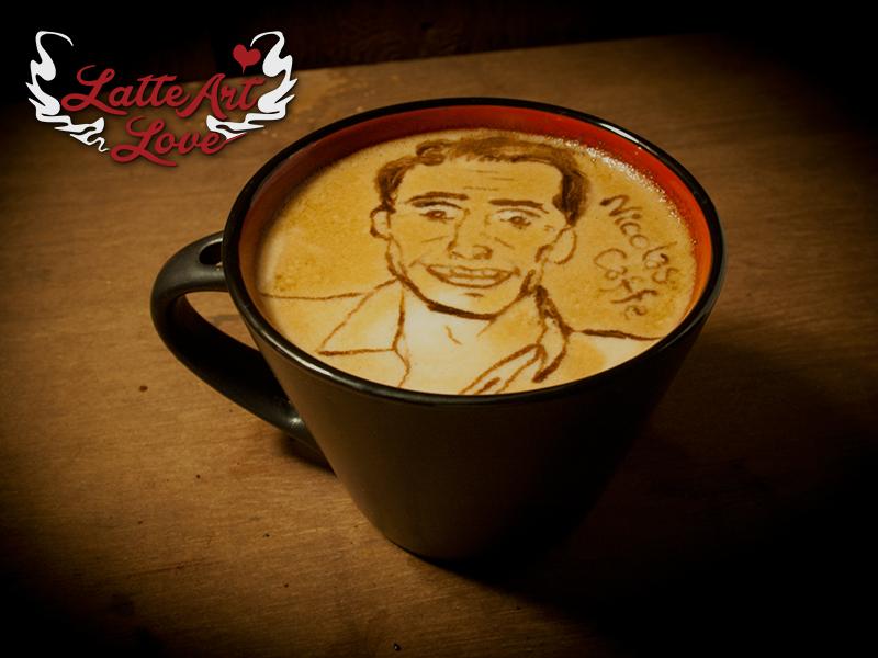 Latte Latte Love - Nicolas Cage