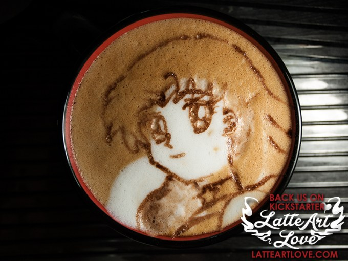 Latte Art - Sailor Mars