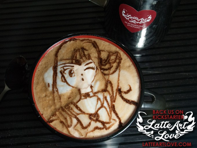 Latte Art - Sailor Mars