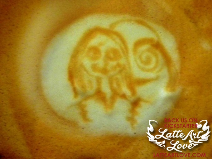 Latte Art - Sally
