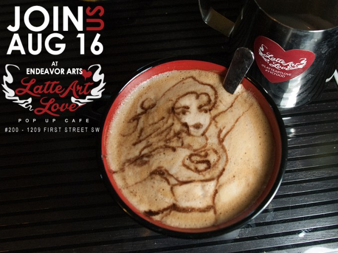 Latte Art - Supergirl