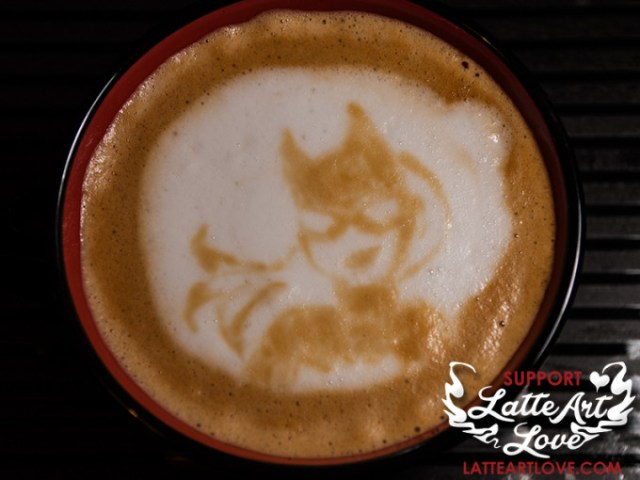 Latte Art - Batgirl