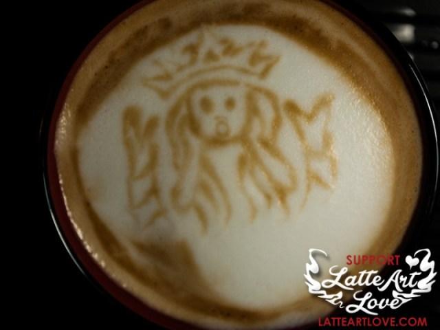 Latte Art - The Siren