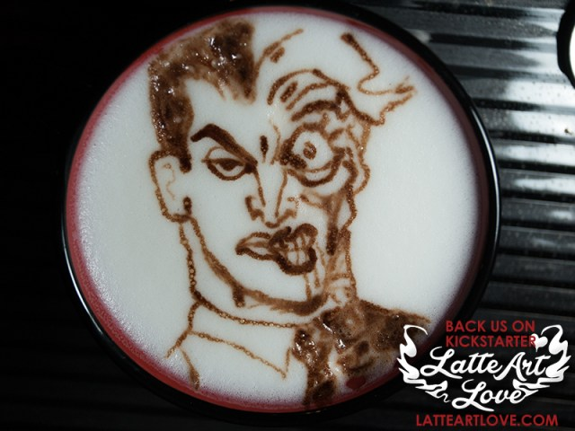 Latte Art - Two-Face