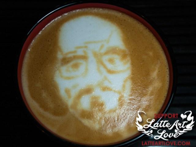 Latte Art - Heinsenberg