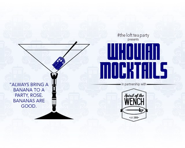 Whovian Mocktails September 2015