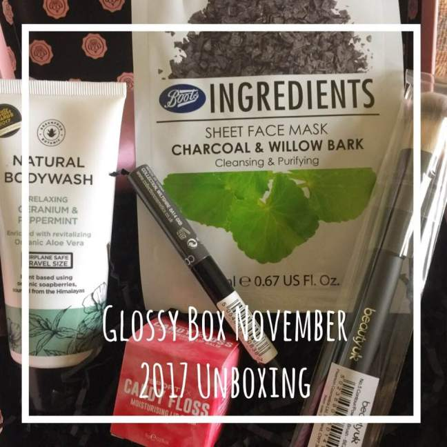 Glossy Box UK unboxing
