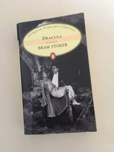 Bram Stroker Dracula Kappacino book club favourites
