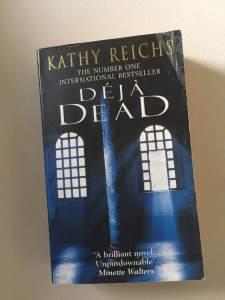 Kathy Reichs Deja Dead kappacino book club favourites