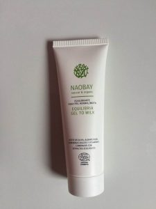 Naobay Equilibria Gel to Milk Cleanser Glossy Box UK Unboxing