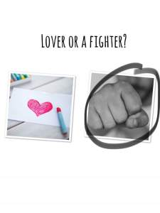 The Big Quiz || Are you a lover or a fighter?