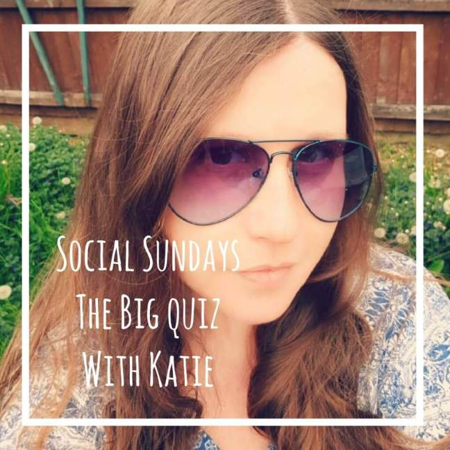 social sundays the big quiz with Katie