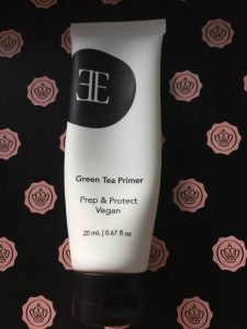 Glossy box unboxing January 2018 Evelyn Iona cosmetics green tea primer