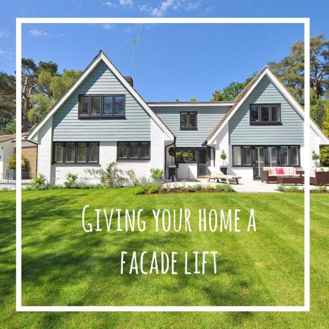 giving your home a facade lift