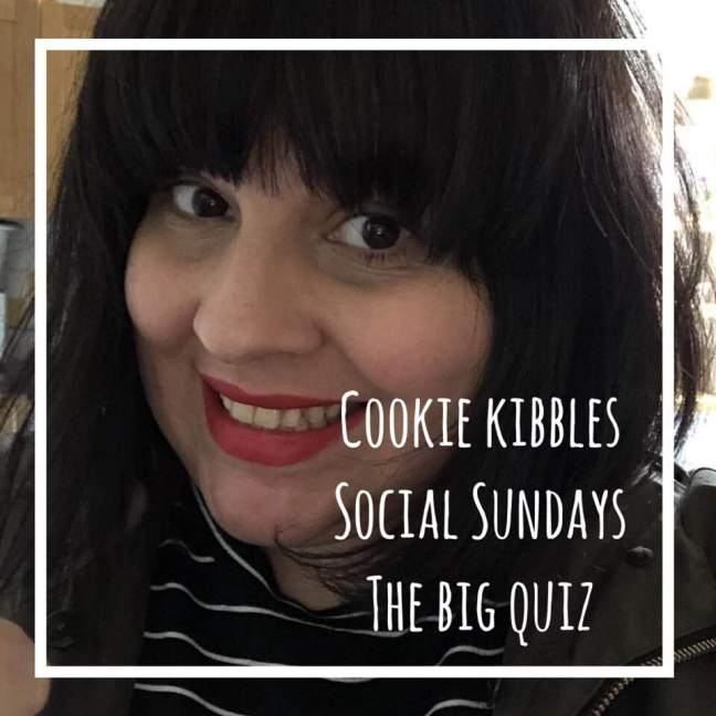 cookie kibbles || social sundays || the big quiz