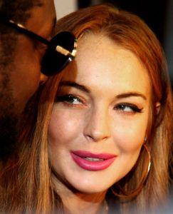 Lindsay Lohan dental