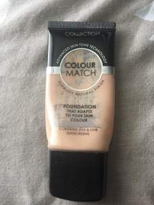 Collection|| Colour Match Foundation || October 2018 Beauty Edit