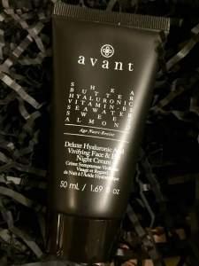 Avant Skincare || Deluxe Hyaluronic Acid Vivifying Face and Eye Night Cream || Glossy Box Unboxing