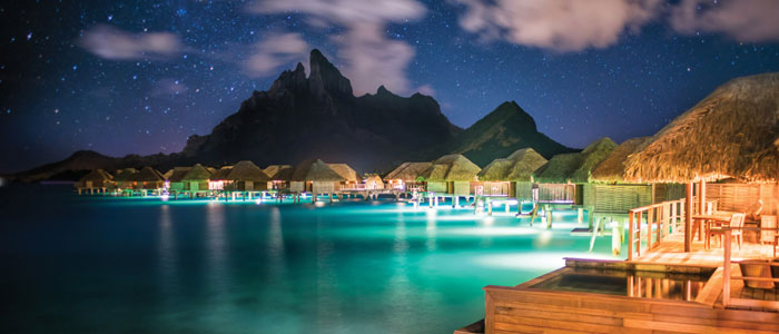 Four Seasons Resort Bora Bora celebrates the 50th anniversary of the overwater bungalow
