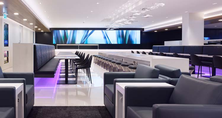 New-look Air New Zealand lounges