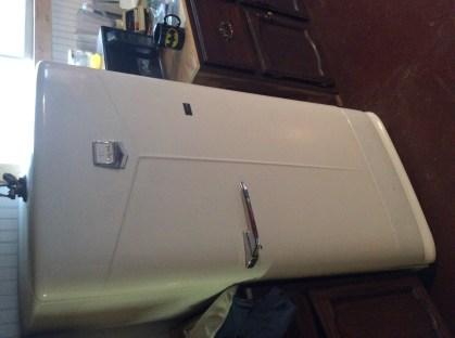 Our vintage fridge