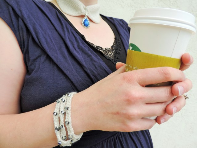 Megan-Anne Llama and SilverSpun Bracelet