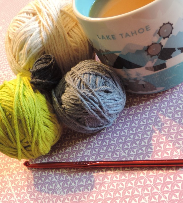 yarn and coffee