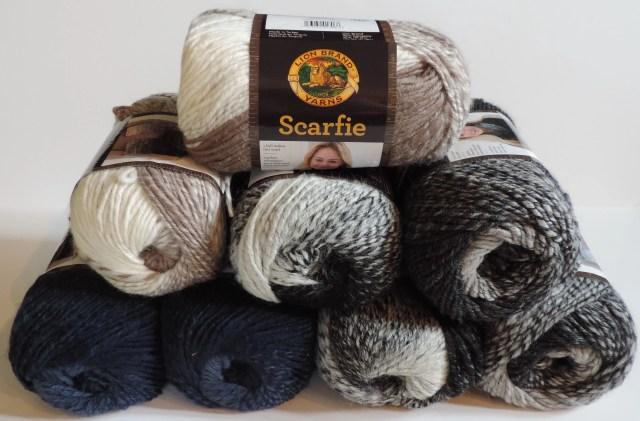 Lion Brand Scarfie Yarn (2)