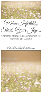A Message of Hope & Encouragement for Mommies Still Waiting...